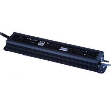 Convertisseur electronique pour LED 230/12v maximum 20 Watts IP67