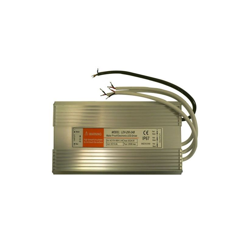 Transformateur 230/24V maximum 250 Watts IP67