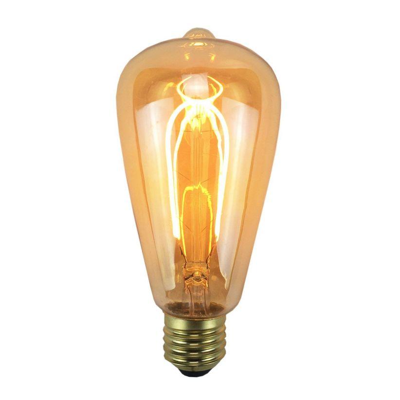ampoule filament led e27 vintage lux et d co. Black Bedroom Furniture Sets. Home Design Ideas