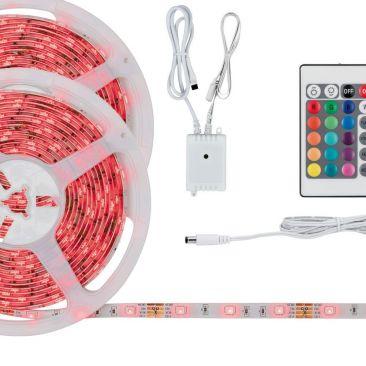 Ruban LED couleurs - Pack 10 mètres