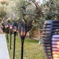 Torche LED sans fil énergie solaire