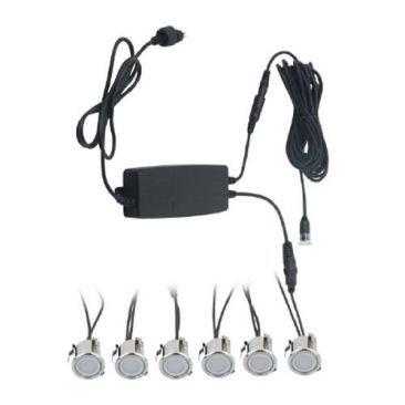 Pack 6 spots LED encastrables Plug & Light