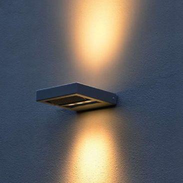 Applique LED extérieure Tero double