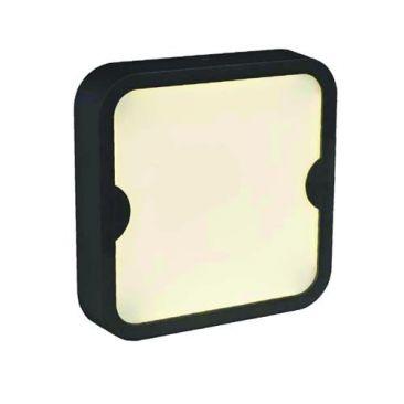 Applique/plafonnier LED carré pour l'extérieur Indra