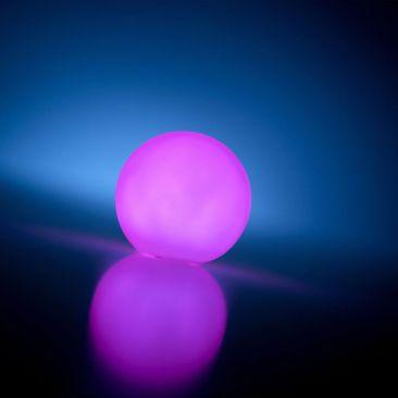 Boule lumineuse à piles