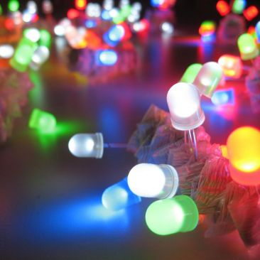 Led Throwies couleurs - Pack de 10