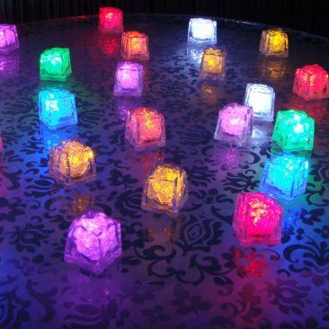 24 glaçons LED - Pack découverte