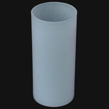 Photophore acrylique blanc dépoli