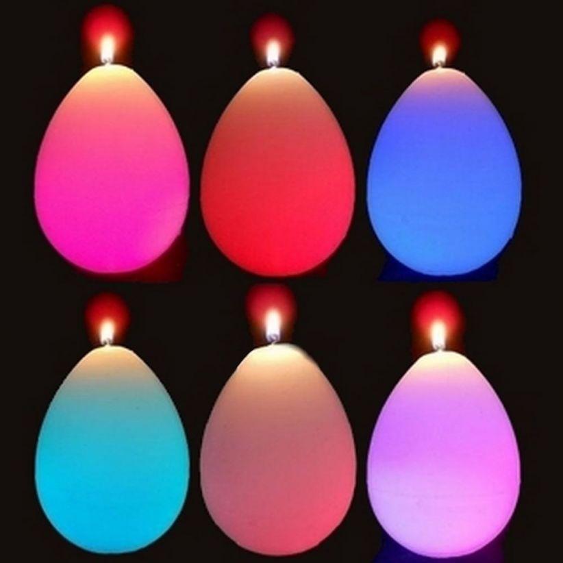 Bougies LED en cire