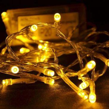 Guirlande 40 LED à piles