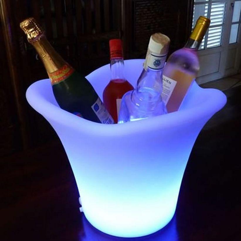 Seau à champagne lumineux Magic 3/4 bouteilles