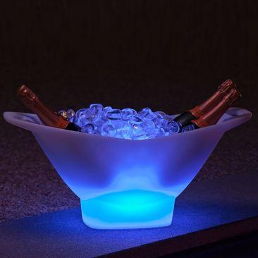 Seau a glace lumineux LED Champagne VIP