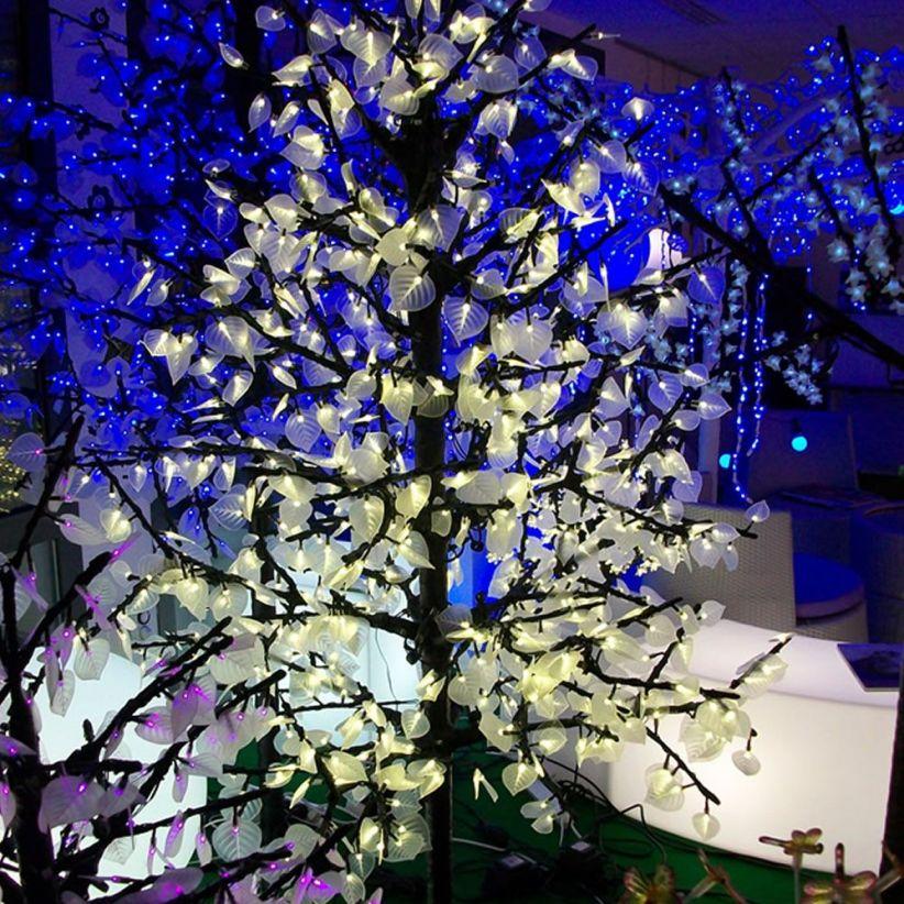 Peupliers lumineux - 840 LED 1.90 m