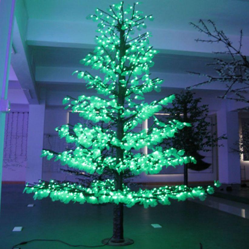 sapin lumineux 852 led m lux et d co arbre lumineux g ant. Black Bedroom Furniture Sets. Home Design Ideas