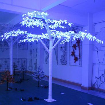 Ficus lumineux - 1800 LED 3.00 m blanc