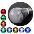 Ampoule LED RVB E27 9 Watts