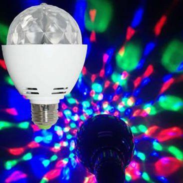 Ampoule LED E27 Disco rotative