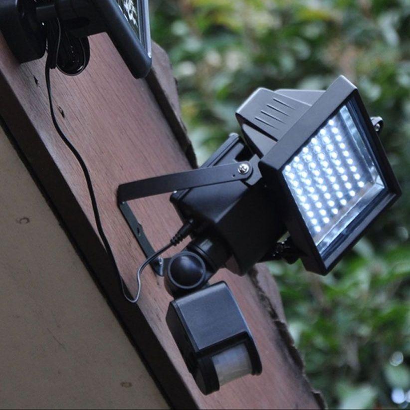 projecteur led ext rieur solaire avec d tecteur lux et d co. Black Bedroom Furniture Sets. Home Design Ideas