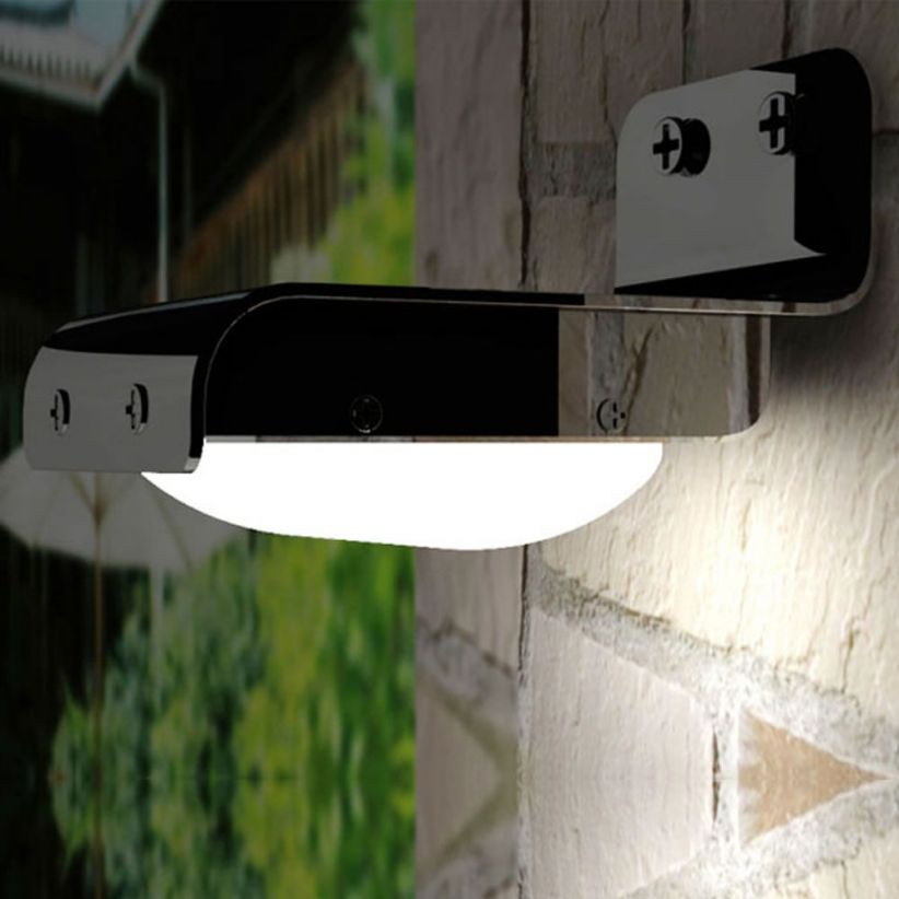 Applique LED solaire sensor detecteur
