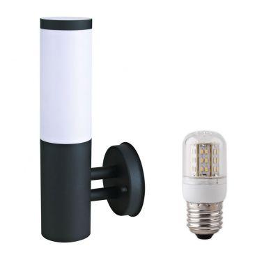 Applique LED extérieure Arles avec son ampoule LED