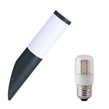 Applique LED torche Arles avec son ampoule LED