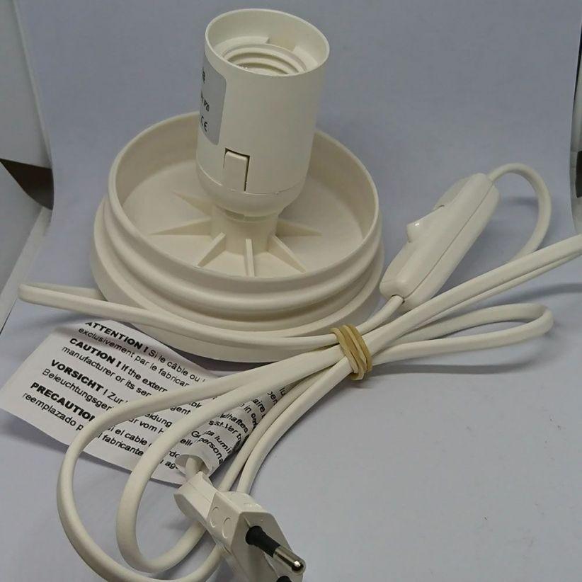 Embase électrique avec interrupteur à main