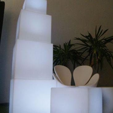 Cube Lumineux Extrieur  Lux Et Dco