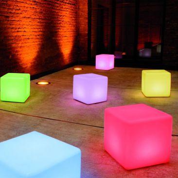 Cube lumineux Kubo avec fil