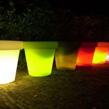Pot lumineux avec fil Titan
