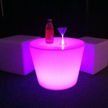 Table basse lumineuse avec fil Atta