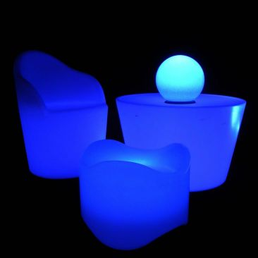 table lumineuse led lux et d co table lumineuse design led. Black Bedroom Furniture Sets. Home Design Ideas