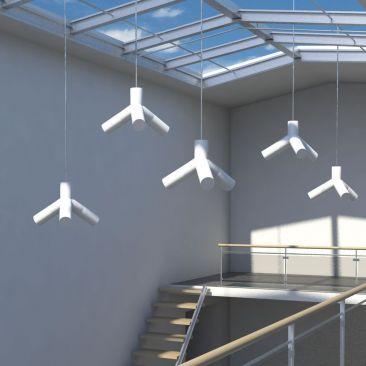 Suspension lumineuse design Evolution