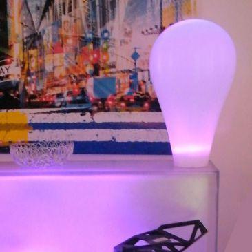 Luminaire sans fil design Amp