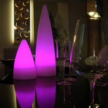 Déco de table lumineux Ammo