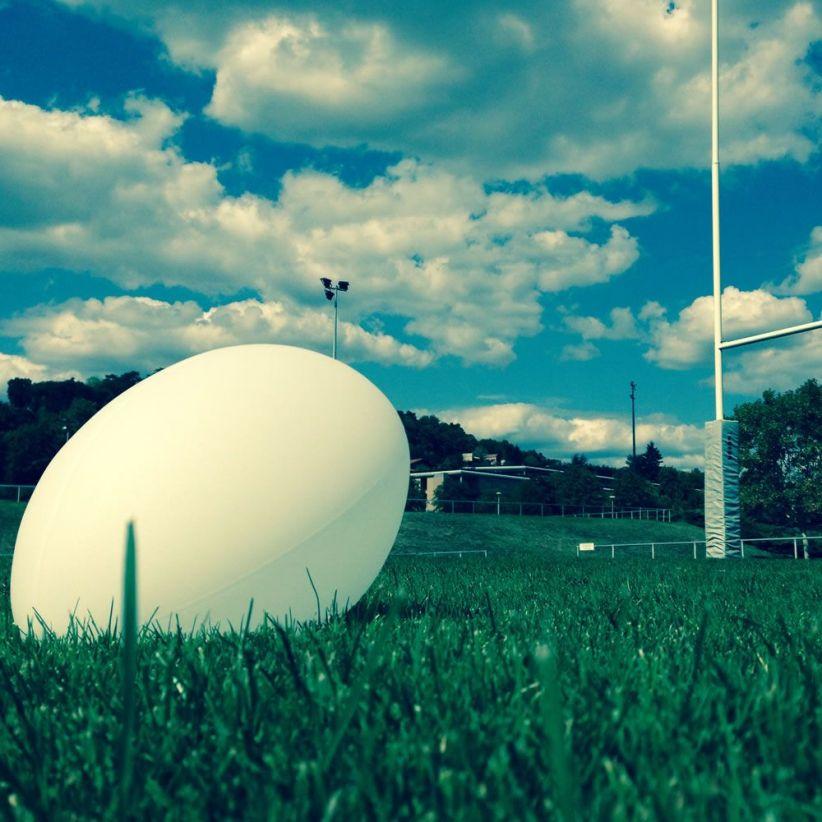 Ballon de rugby Ellis prêt pour la transformation