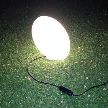 Ballon de rugby lumineux avec fil Ellis
