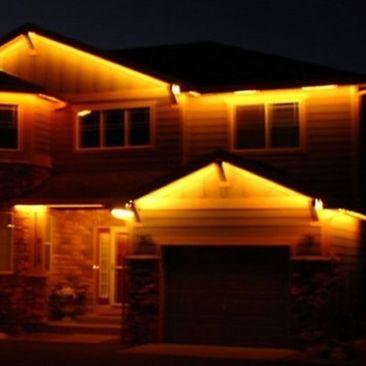 Ruban LED extérieur blanc chaud 10 mètres