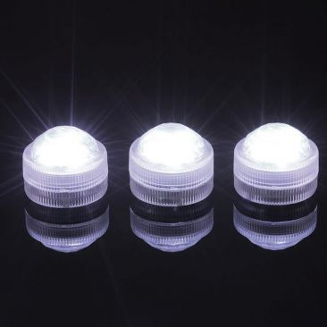 Lampion 3 LED Diamant - Pack de 10