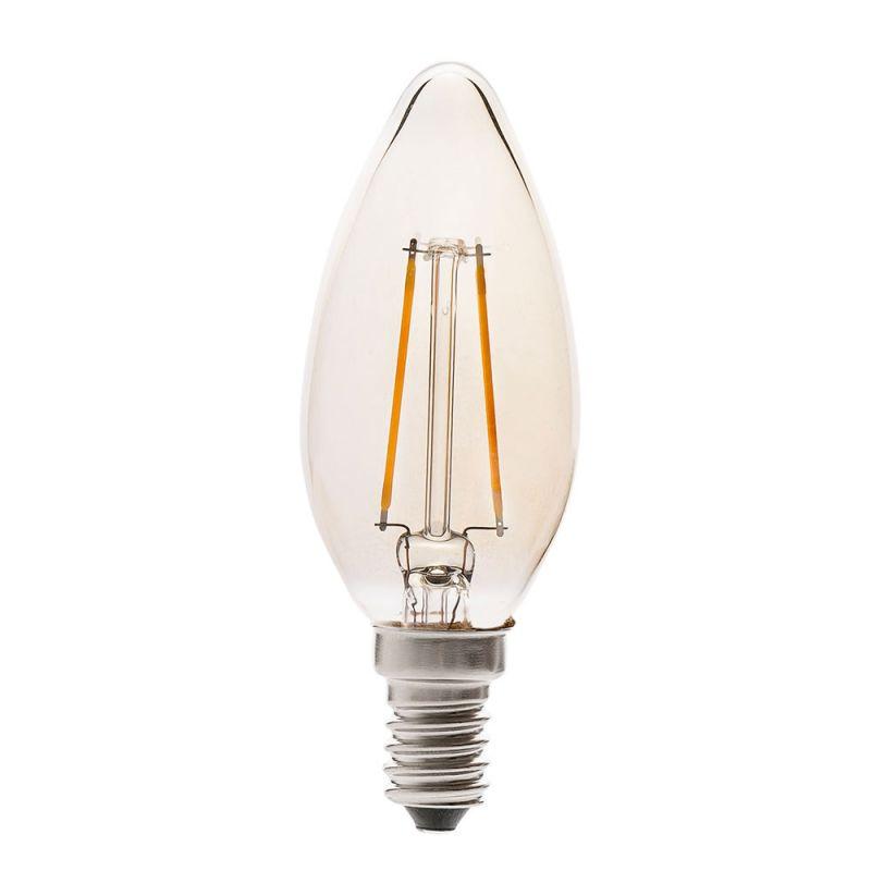 ampoule led flamme e14 ambre filament lux et d co. Black Bedroom Furniture Sets. Home Design Ideas