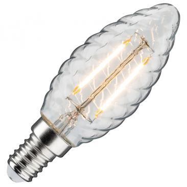 Ampoule LED flamme Torsade