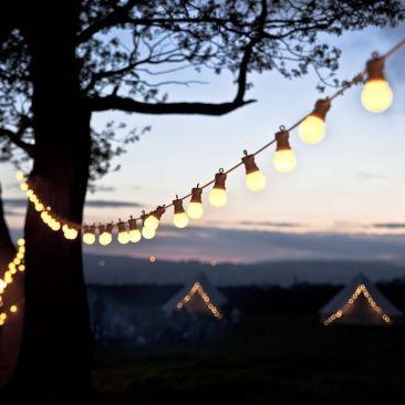 Guirlande guinguette 5 mètres 8 ampoules LED