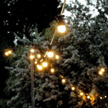 Guirlande guinguette 15 mètres 24 ampoules