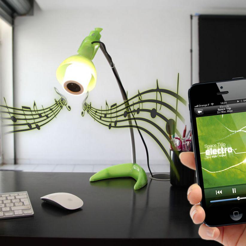 Ampoule musicale LED E14 avec haut parleur