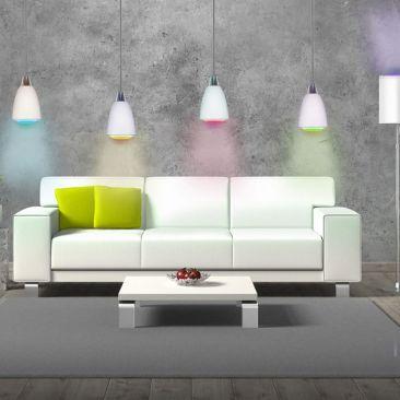 Ampoule LED connectée E27 couleurs