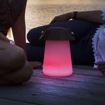 Lampe LED connectée avec haut-parleur Funghi