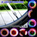 Rayons lumineux de roue de vélo
