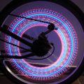 Valve lumineuse pour roue de vélo