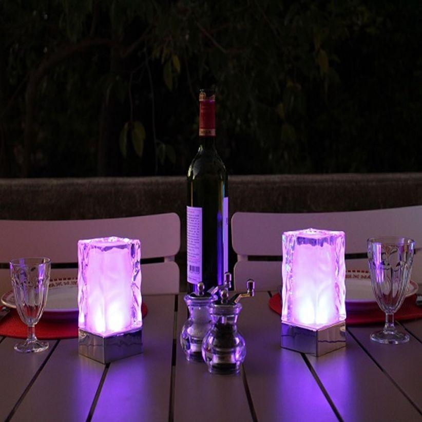 Centre de table lumineux rechargeable Spa