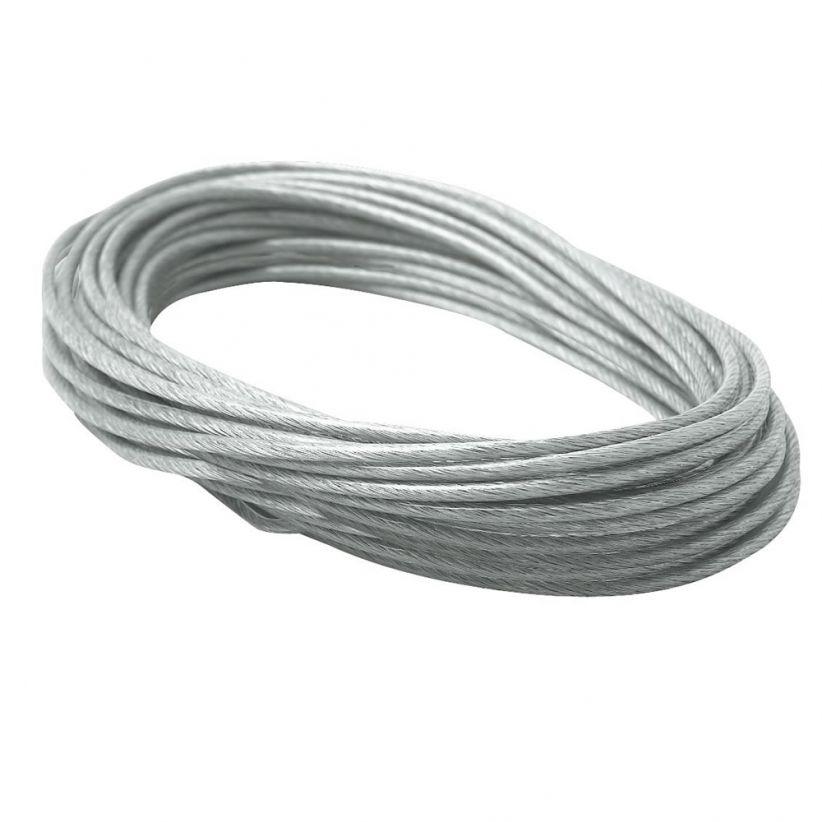 câble traction isolé, 12m, 2,5mm² clair