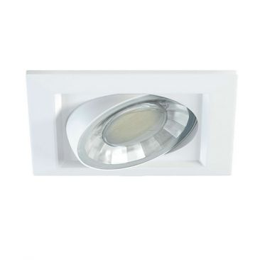 Spot encastrable carré COMPAC C 8W 220V 90º LED